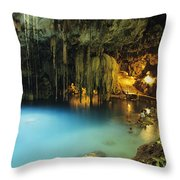 Dzitnup Natural Well Throw Pillow by Bill Schildge - Printscapes