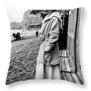 Gabrielle Coco Chanel Throw Pillow by Granger