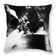 Godzilla Throw Pillow by Granger