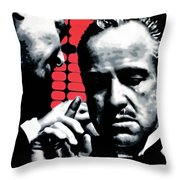 I Want You To Kill him Throw Pillow by Luis Ludzska