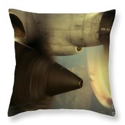 Intake No.2 Throw Pillow by Sean Cupp