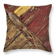 Linear Throw Pillow by Kelley King