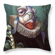 Marquis de Sole Throw Pillow by Patrick Anthony Pierson
