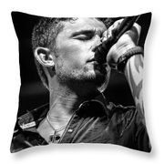 Michael Ray Throw Pillow by Christopher Holmes