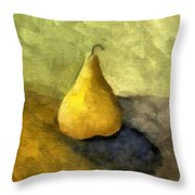 Pear Still Life Throw Pillow by Michelle Calkins
