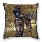 Saint Matthew Throw Pillow by Granger