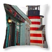 The Cove Throw Pillow by Joann Vitali