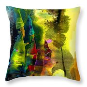 The Three Kings Throw Pillow by Miki De Goodaboom