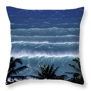 Trade Lines Throw Pillow by Sean Davey
