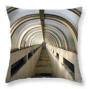 Underground Vault Throw Pillow by Yali Shi
