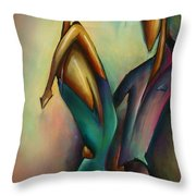 X Throw Pillow by Michael Lang