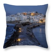 Naxos - Cyclades - Greece Throw Pillow by Joana Kruse