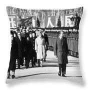 RICHARD NIXON (1913-1994) Throw Pillow by Granger