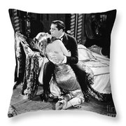 SILENT FILM STILL: COUPLES Throw Pillow by Granger