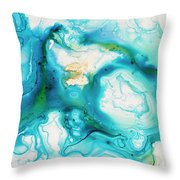 Untitled Throw Pillow by Angelina Cornidez