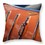 1957 Chevrolet Nomad Throw Pillow by Gordon Dean II