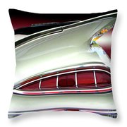 1959 Chevrolet Impala Tail Throw Pillow by Peter Piatt