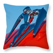 1960 Nash Metropolitan Throw Pillow by Jill Reger