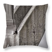 Architectural Detail Throw Pillow by Carol Leigh