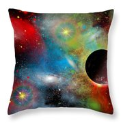 Artists Concept Illustrating Throw Pillow by Mark Stevenson