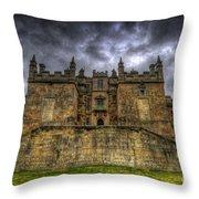 Bolsover Castle Throw Pillow by Yhun Suarez