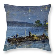 CLEMENS: TOM SAWYER Throw Pillow by Granger