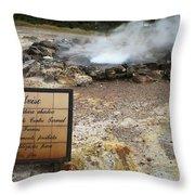 Furnas - Azores Throw Pillow by Gaspar Avila