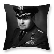 General Curtis Lemay Throw Pillow by War Is Hell Store