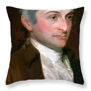 John Jay, American Founding Father Throw Pillow by Photo Researchers