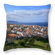 Maia - Azores Islands Throw Pillow by Gaspar Avila