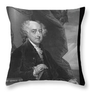 President John Adams Throw Pillow by War Is Hell Store