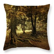 Rooted In Nature Throw Pillow by Jessica Jenney