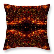 The Beginning Or The End Throw Pillow by Angelina Vick