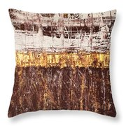 Untitled No. 3 Throw Pillow by Julie Niemela