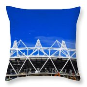 2012 Olympics London Throw Pillow by David French