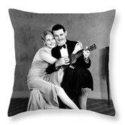 Silent Film Still: Couples Throw Pillow by Granger