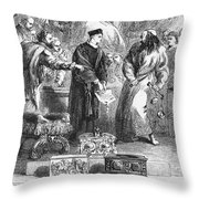 MERCHANT OF VENICE Throw Pillow by Granger