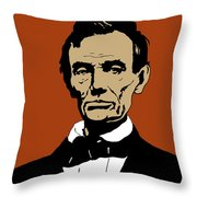 President Lincoln Throw Pillow by War Is Hell Store
