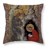 Saint John Throw Pillow by Granger