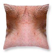 Stormy Angry Eyes Throw Pillow by James BO  Insogna