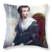 ABIGAIL ADAMS (1744-1818) Throw Pillow by Granger
