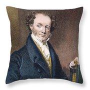 Martin Van Buren (1782-1862) Throw Pillow by Granger