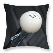 4 On The Floor Throw Pillow by Kelly Mezzapelle