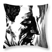 Sergei Rachmaninoff Throw Pillow by Granger