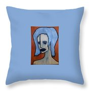 Halloween Throw Pillow by Thomas Valentine