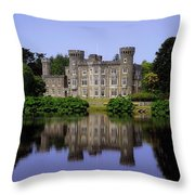 Johnstown Castle, Co Wexford, Ireland Throw Pillow by The Irish Image Collection