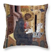 SAINT MARK Throw Pillow by Granger