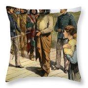 Geronimo (1829-1909) Throw Pillow by Granger
