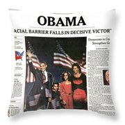 Presidential Campaign, 2008 Throw Pillow by Granger