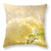 A Chance Of Showers Throw Pillow by Amy Tyler